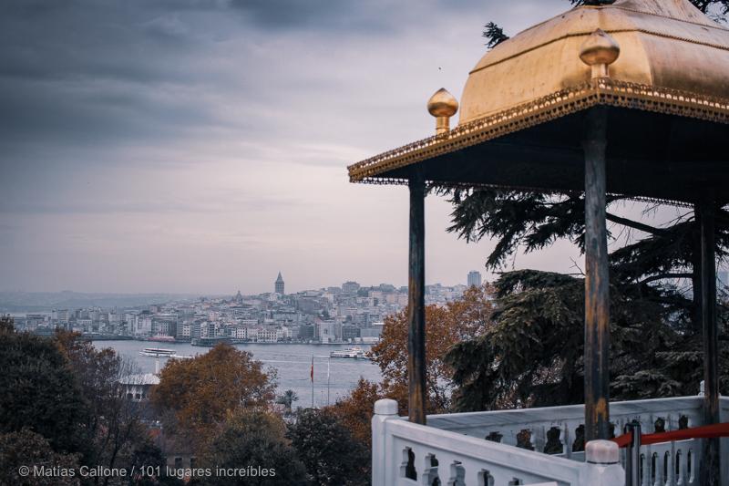 mejores miradores en Estambul